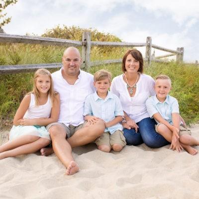 Family Beach Session/ Sea Girt/ New Jersey