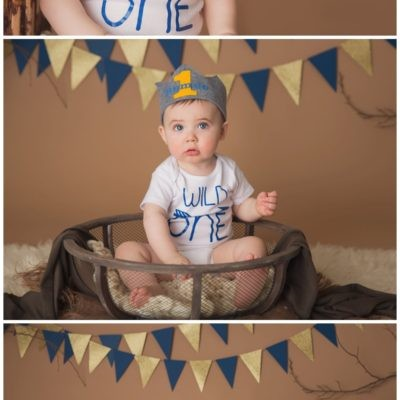 1st Birthday Cake Smash Portraits/ Manasquan, New Jersey