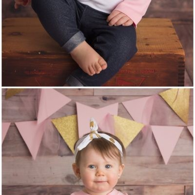 NJ Studio Photography/ 1st Birthday Portraits/ Manasquan, NJ