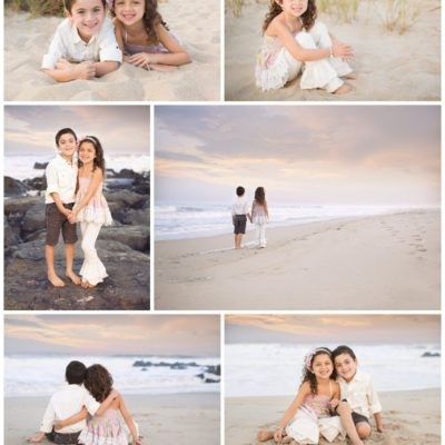 Jersey Shore Beach Photographer | DeSantis Siblings